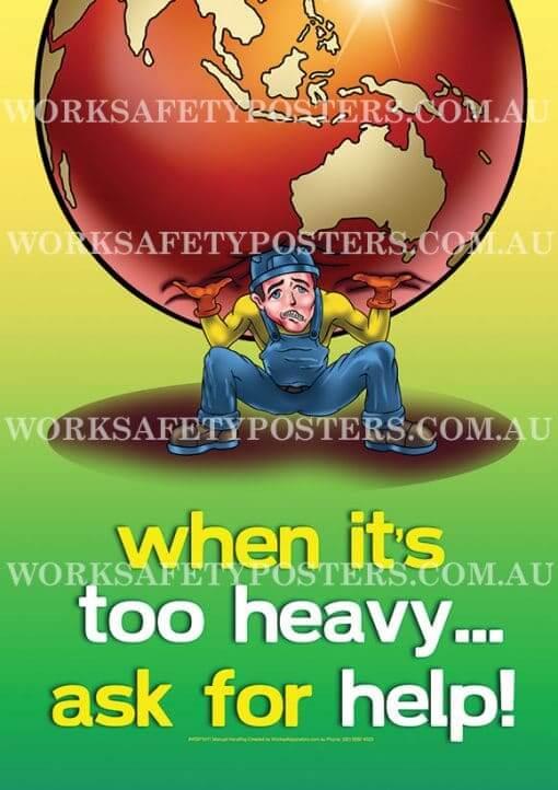 Back Safety Poster