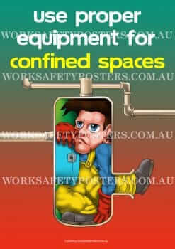 The Confined Space Safety Posters