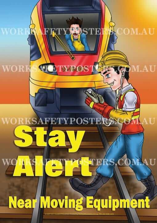 Stay Alert Safety Posters