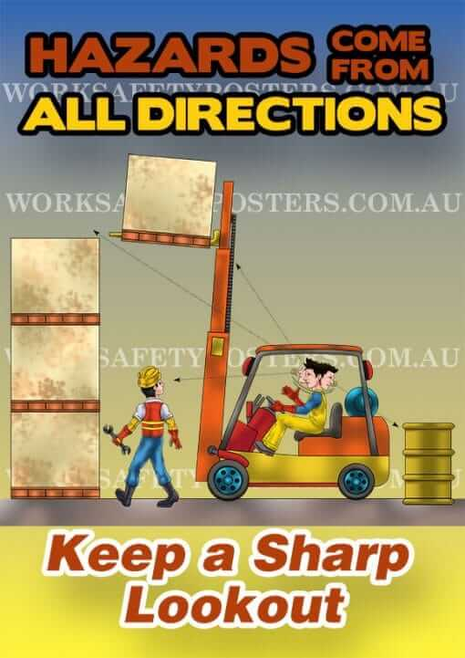Materials Handling Safety Poster