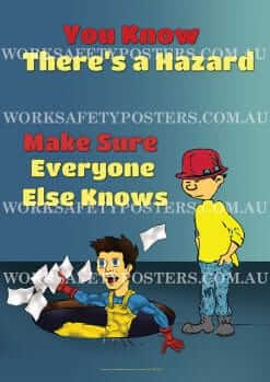 Report Hazards in the Workplace Posters