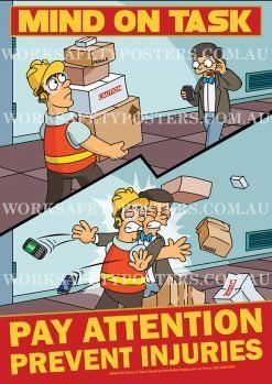 Mind on Task Safety Poster