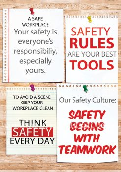 Safety Notice Board Poster