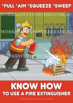 Fire Extinguisher Safety Posters