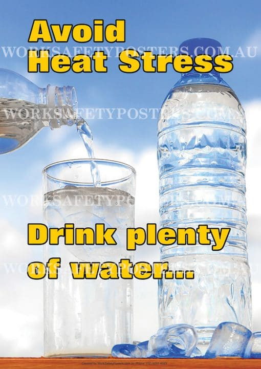 Heat Stress Safety Posters