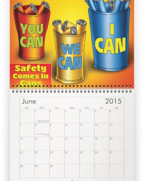 Safety Calendar Ideas : Month safety topics calendar myideasbedroom