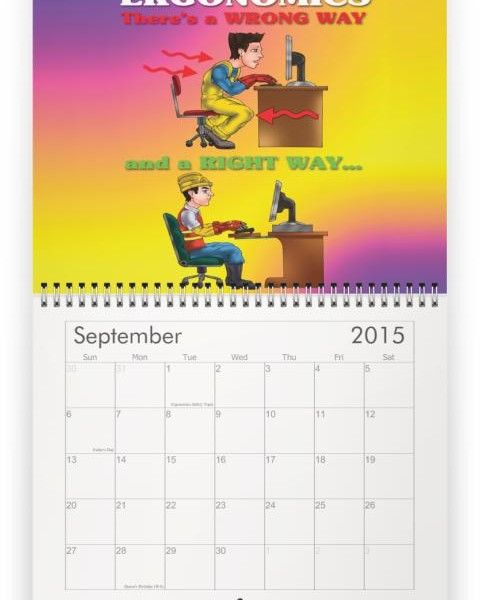 Safety Calendar Ideas : Safety topics calendar myideasbedroom