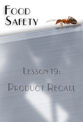 Product Recall Food Safety DVD