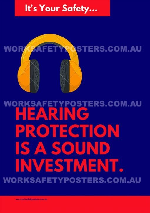 Hearing protection is a sound investment.
