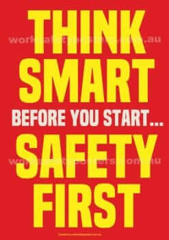 Think Smart Safety Poster